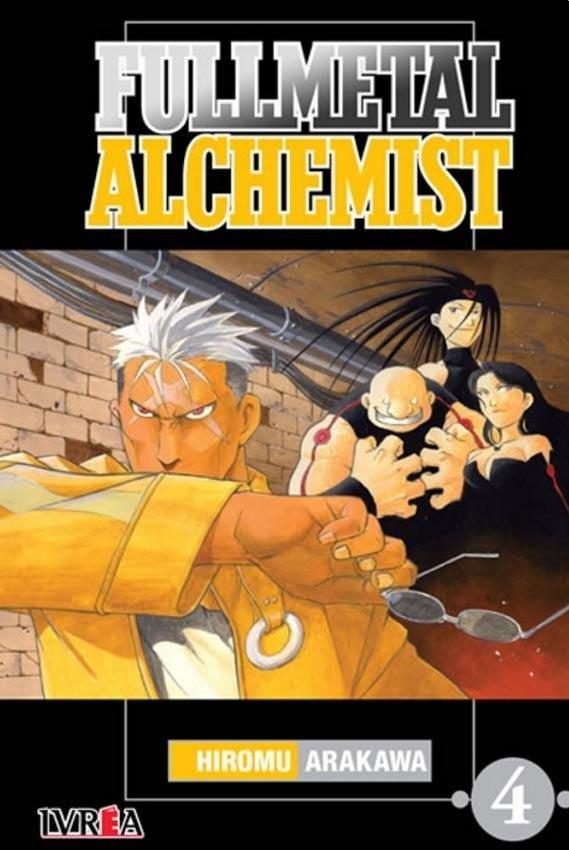 Manga Fullmetal Alchemist 04