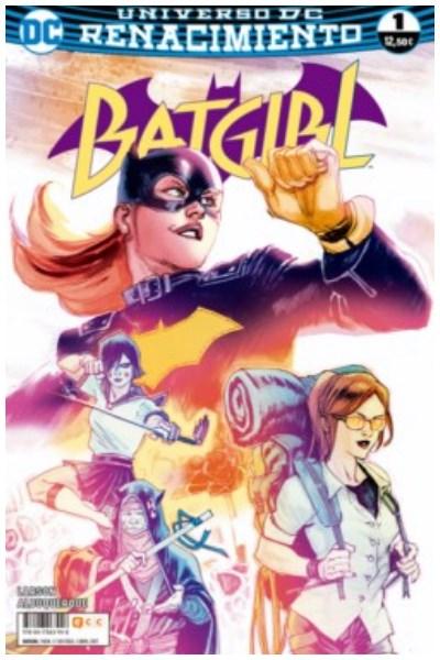 Comic Batgirl Núm. 01 (Renacimiento)