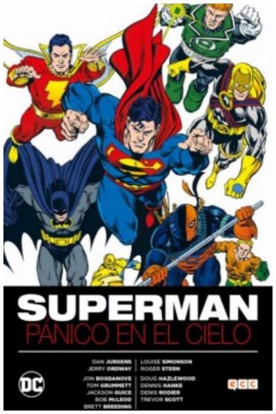 Comic Superman: Pánico En El Cielo