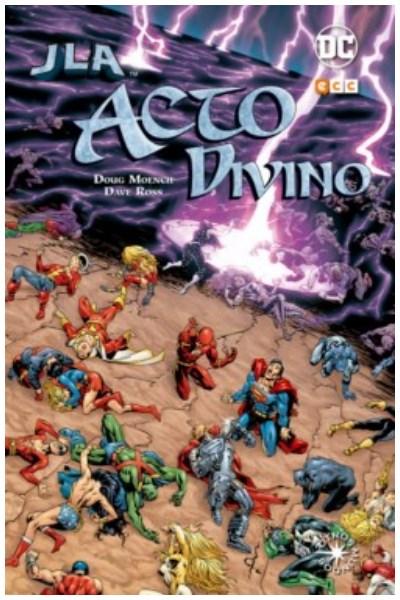 Comic Jla: Acto Divino (Línea Otros Mundos)