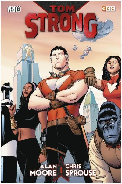 Comic Tom Strong: Libro 01 (De 3)