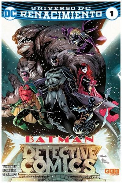 Comic Detective Comics (Batman) #01 (Renacimiento)
