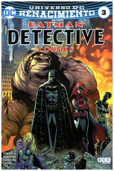 Comic Detective Comics (Batman) #03 (Renacimiento)