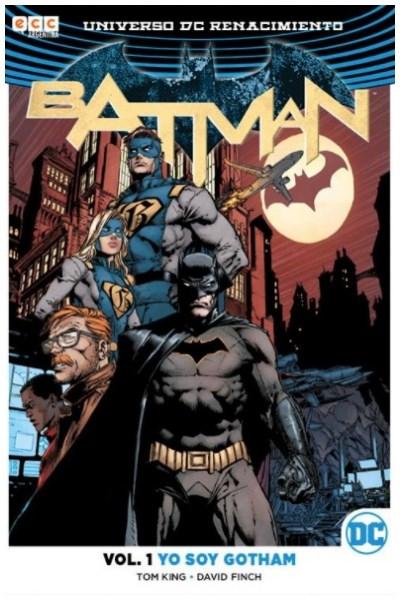 Comic Batman Vol. 01: Yo Soy Gotham