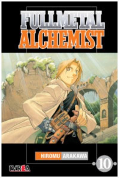 Manga Fullmetal Alchemist 10