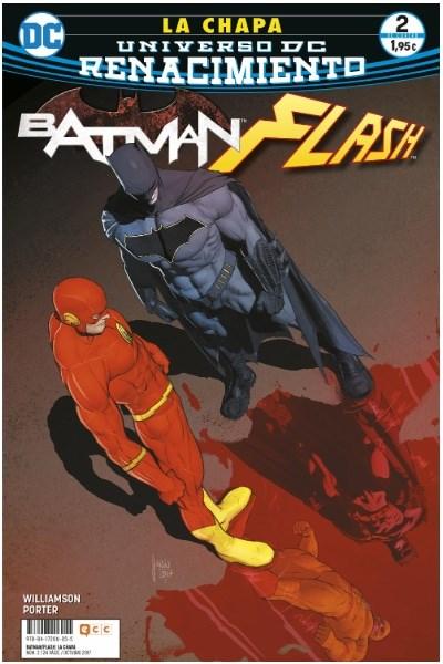 Comic Batman/ Flash: La Chapa Núm. 02 (De 4) (Renacimiento)