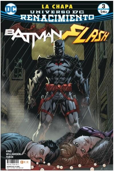 Comic Batman/ Flash: La Chapa Núm. 03 (De 4) (Renacimiento)