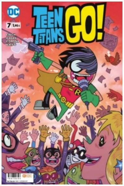 Comic Teen Titans Go! Núm. 07