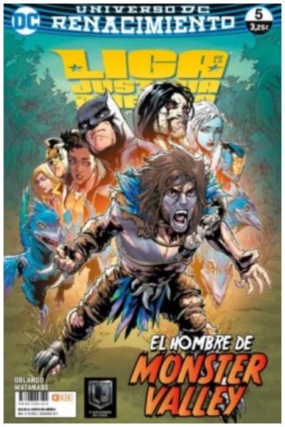 Comic Liga De La Justicia De América Núm. 05 (Renacimiento)
