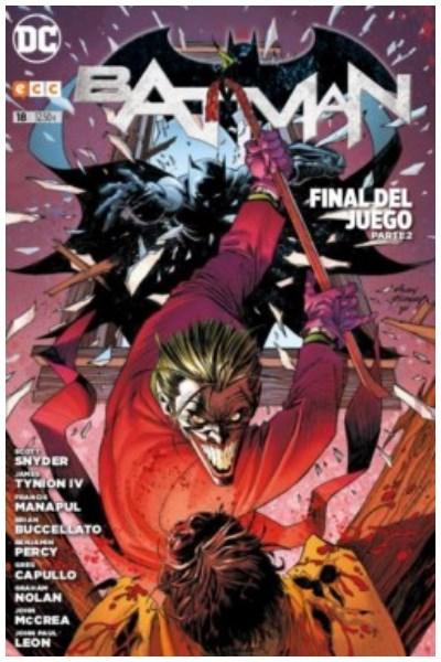 Comic Batman Núm. 18: (Nuevo Universo Dc) (Reedición Trimestral) - Final Del Juego Parte 02
