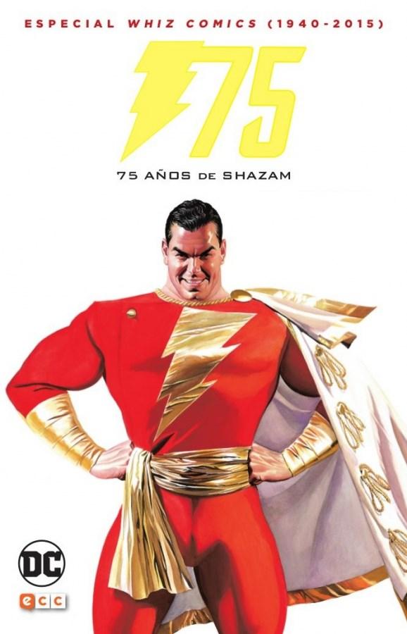 Comic 75 Años De Shazam: Especial Whiz Comics (1940-2016)