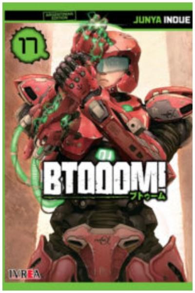 Manga Btooom! 17