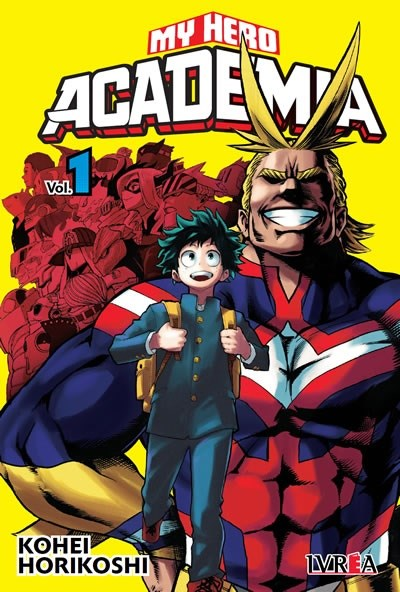 Manga My Hero Academia 01