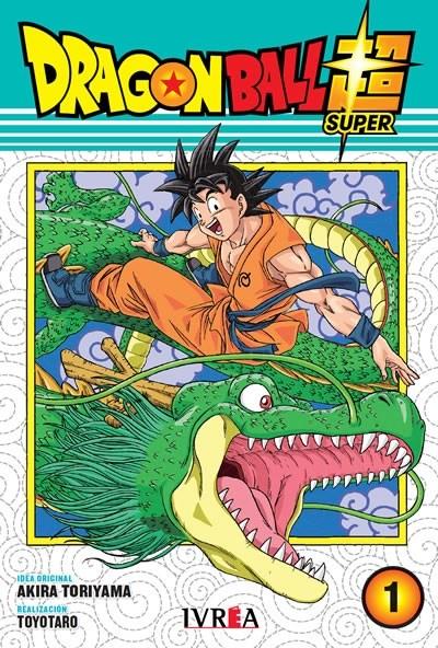 Manga Dragon Ball Super 01