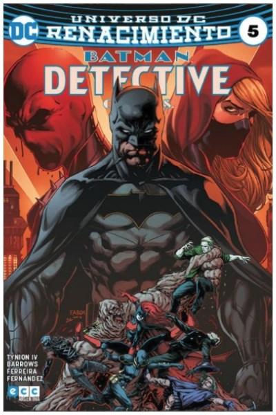 Comic Detective Comics (Batman) #05 (Renacimiento)