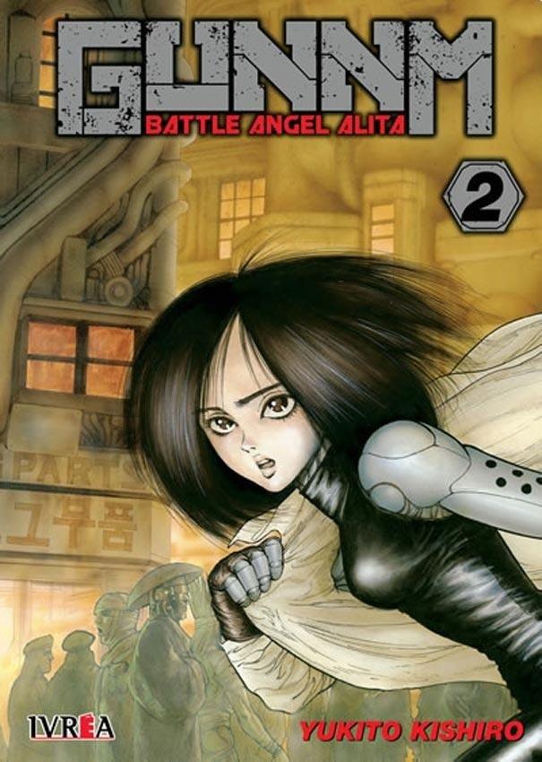 Manga Gunnm Battle Angel Alita 02