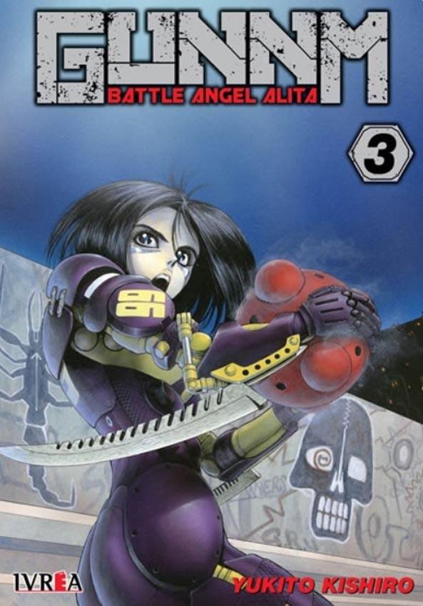 Manga Gunnm Battle Angel Alita 03