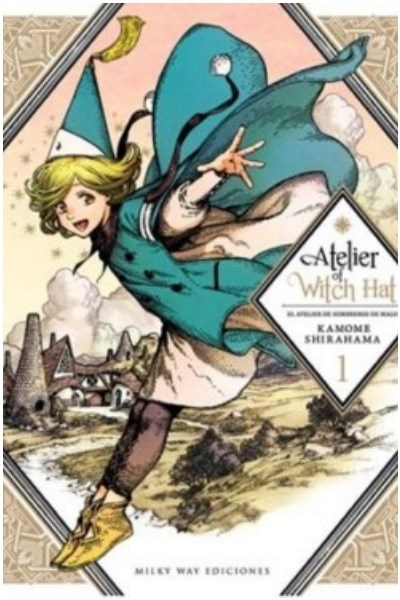 Manga Atelier Of Witch Hat, Vol. 1 (Ed. Española)