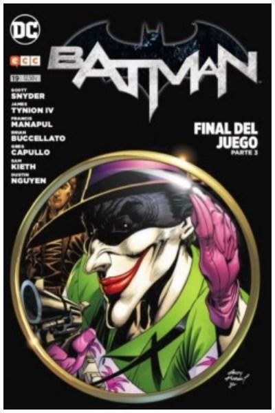 Comic Batman Núm. 19: (Nuevo Universo Dc) (Reedición Trimestral) - Final Del Juego Parte 03