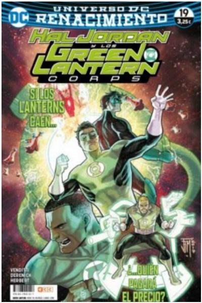 Comic Hal Jordan Y Los Green Lantern Corps Núm. 74/19 (Renacimiento)