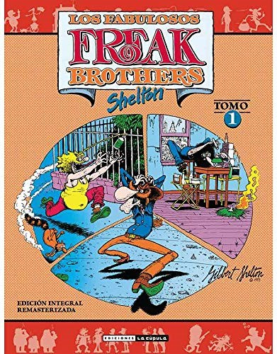 Comic Los Fabulosos Freak Brothers Integral Vol.01