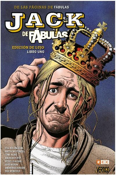 Comic Jack De Fábulas: Edición De Lujo - Libro 1 (De 2)