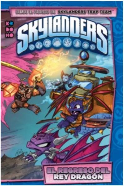 Comic Skylanders: El Regreso Del Rey Dragón