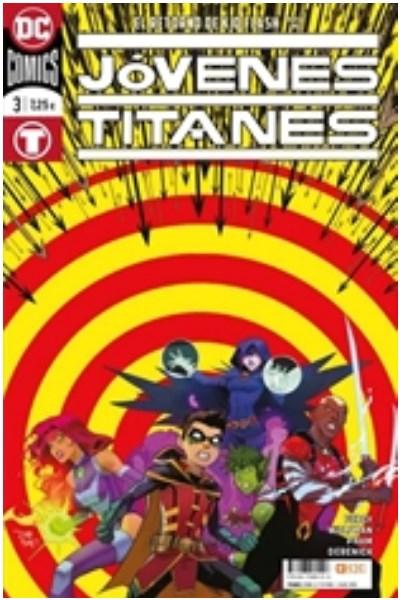 Manga Jóvenes Titanes Núm. 03