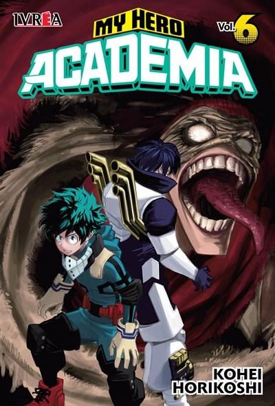 Manga My Hero Academia 06