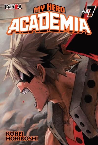 Manga My Hero Academia 07