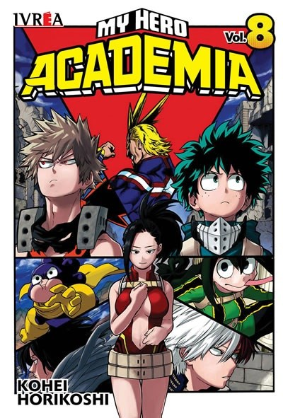 Manga My Hero Academia 08