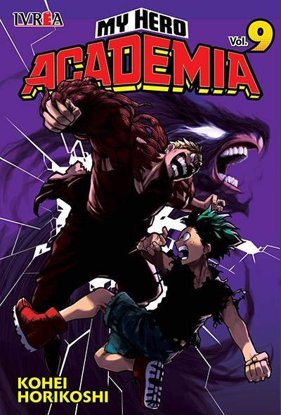 Manga My Hero Academia 09