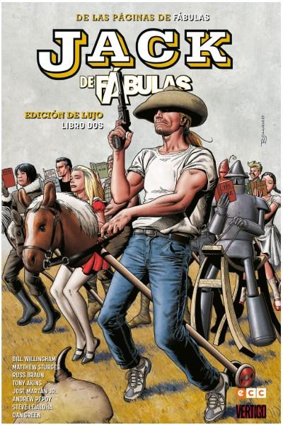 Comic Jack De Fábulas: Edición De Lujo - Libro 2 (De 3)