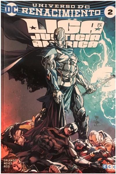 Comic Liga De La Justicia De América 02 (Renacimiento)