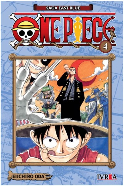 Manga One Piece 04