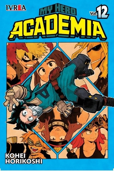 Manga My Hero Academia 12