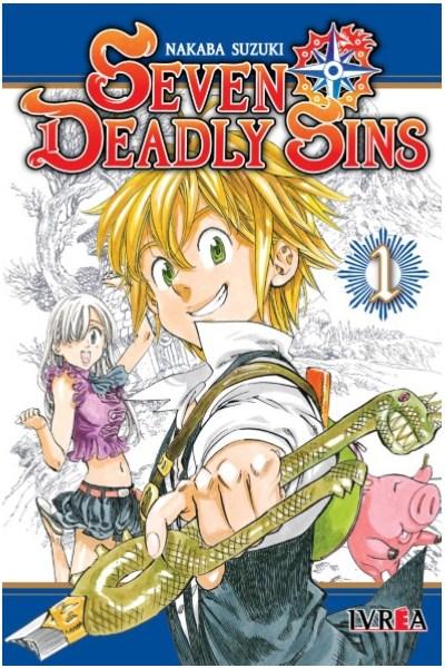 Manga Seven Deadly Sins 01