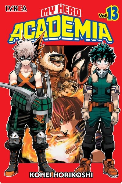 Manga My Hero Academia 13