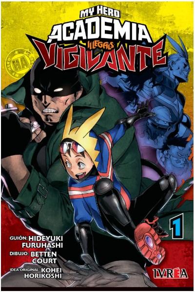 Manga Vigilante: My Hero Academia Illegals 01