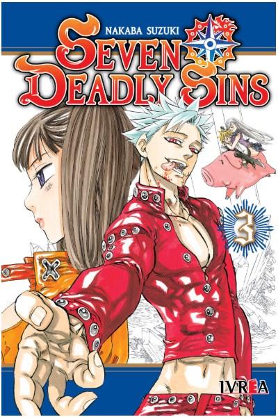 Manga Seven Deadly Sins 03