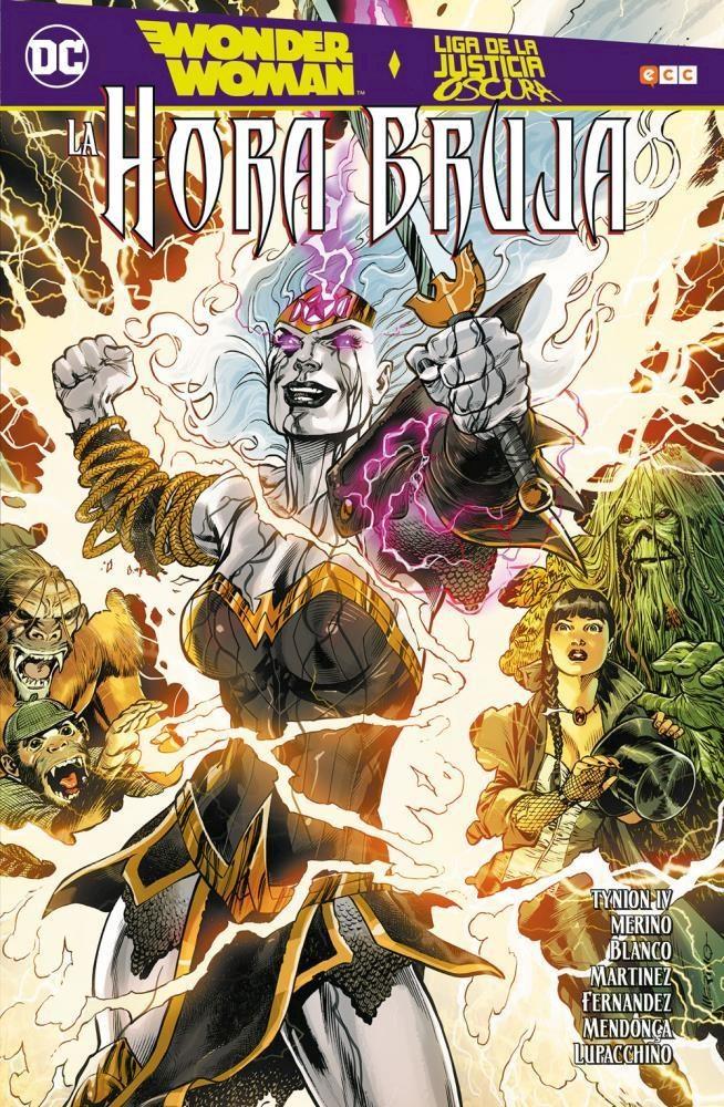 Comic Wonder Woman/Liga De La Justicia Oscura: La Hora Bruja