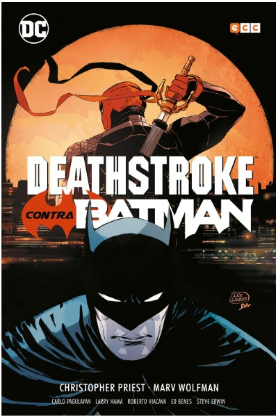 Comic Deathstroke Contra Batman