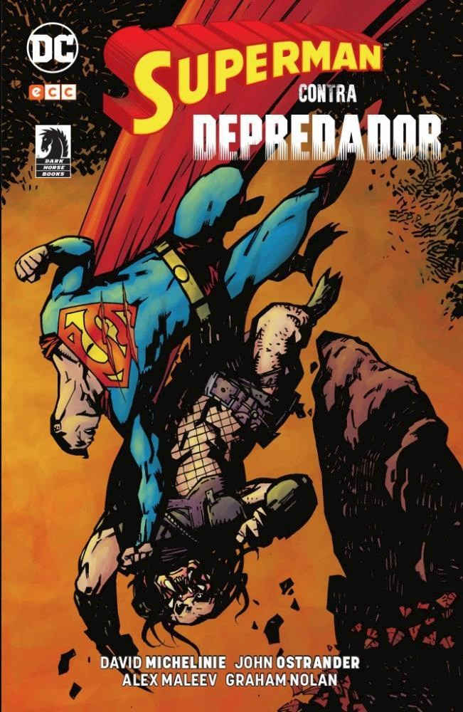 Comic Superman Contra Depredador
