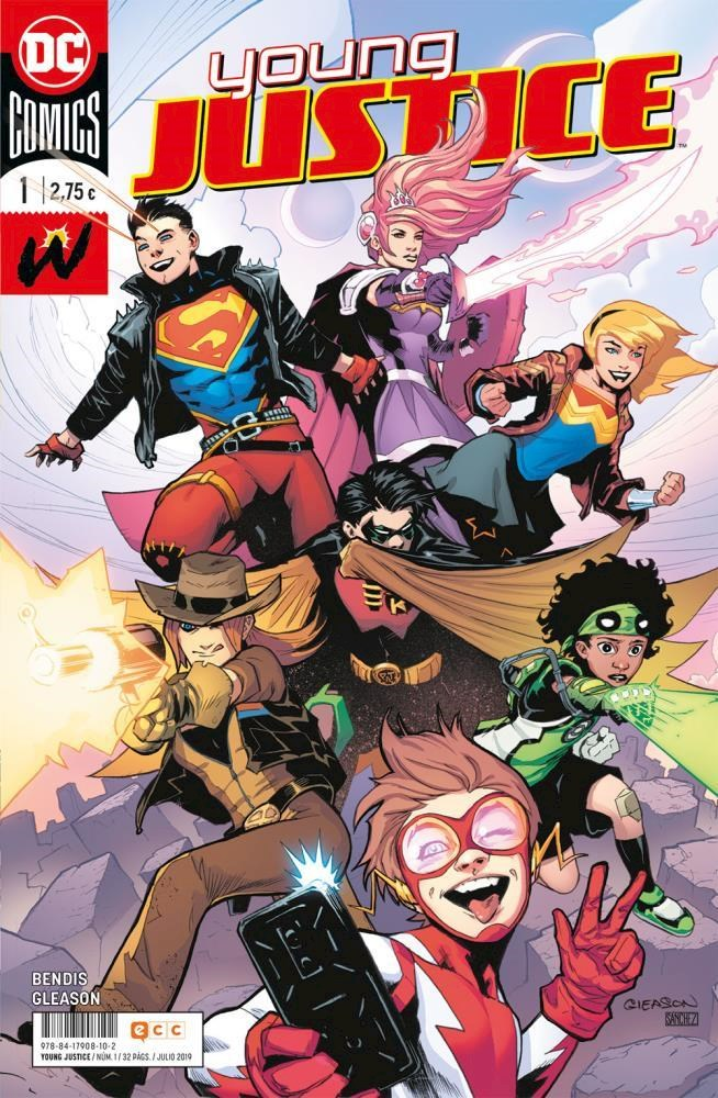 Comic Young Justice Núm. 01