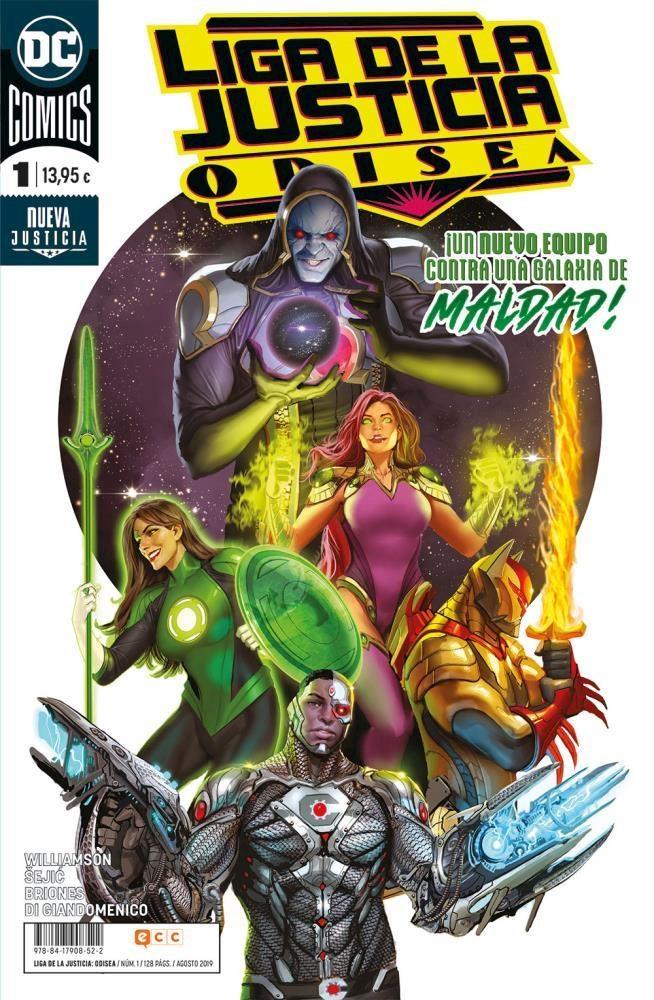 Comic Liga De La Justicia: Odisea Núm. 1