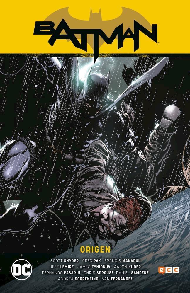 Comic Batman: Origen