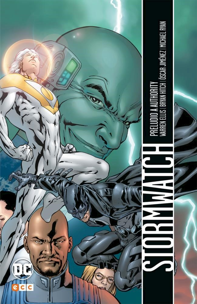 Comic Stormwatch: Preludio A Authority