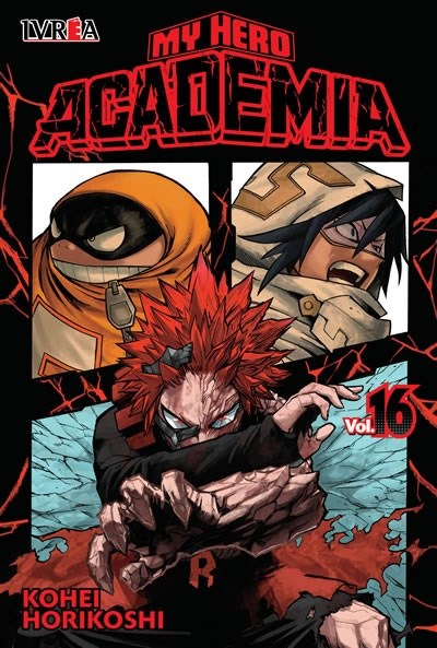 Manga My Hero Academia 16