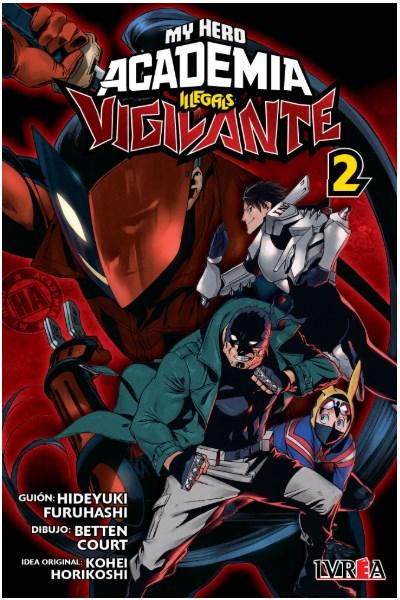 Manga Vigilante: My Hero Academia Illegals 02