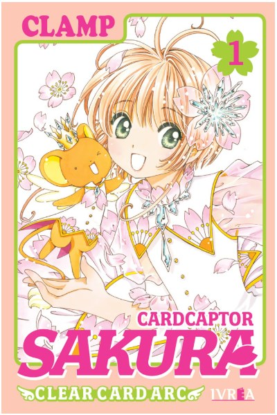 Manga Cardcaptor Sakura Clear Card Arc 01